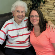 Evelyn and Kristie Photo | Hospice of St. Francis Bereavement Program