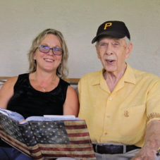 Debbie and Clyde - We Honor Veterans Photo