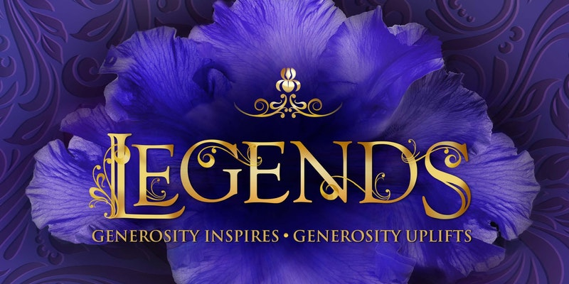 Legends Event Graphic Hospice of St Francis
